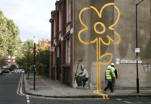 Banksy_flower_2